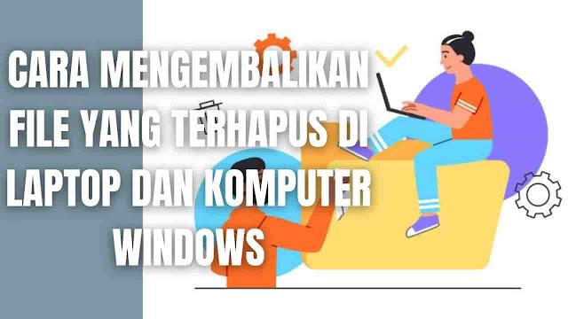"""Cara Mengembalikan File Yang Terhapus Di Laptop Dan Komputer Windows Di dalam mengembalikan file yang terhapus di laptop dan komputer windows ada beberapa langkah-langkah yang harus di ikuti yang diantaranya adalah :  Via Recycle Bin Jika tidak sengaja menghapus sebagian atau beberapa file penting, maka sebaiknya periksa dulu di Recycle Bin. Apabila file yang terhapus ada, maka silahkan klik atau pilih file dan pilih restore.    Via Restore Previous Apabila file yang dihapus tidak ada di Recycle Bin maka silahkan lakukan cara ini :  Masuk ke File Explorer Cari folder file yang tidak sengaja dihapus Klik kanan dan pilih Restore Previous Versions    Via Command Prompt Apabila file terhapus dengan tidak sengaja bisa juga mengikuti langkah-langkah ini :  Klik menu search kemudian tulis CMD Ketikkan chkdsk X: /f , silahkan ganti Huruf X dengan nama Drive Ketikkan ATTRIB -H -R -S /S /D X:*.* silahkan ganti Huruf X dengan nama Drive    Via File History Apabila menggunakan windows 10 original alam tersedia fitur File History yang berfungsi melihat dan mengembalikan file yang hilang. Cara menggunakannya :  Klik menu search kemudian tulis File History Pilih opsi Restore jika data drive sudah di backup Selesai dan data yang hilang kembali di folder PC    Via Software Recuva Recuva adalah sebuah software tambahan untuk mengembalikan file. Cara menggunakannya :  Download dan instal aplikasi Recuva Ikuti instruksi yang diarahkan Memilih folfer file yang hilang lalu recover Restore dan tunggu sampai prosesnya selesai    Nah itu dia bagaimana cara mengembalikan file yang terhapus di laptop dan komputer windows dengan mudah, melalui bahasan di atas bisa diketahui mengenai langkah-langkah di dalam mengembalikan file yang terhapus di laptop dan komputer windows. Mungkin hanya itu yang bisa disampaikan di dalam artikel ini, mohon maaf bila terjadi kesalahan di dalam penulisan, dan terimakasih telah membaca artikel ini.""""God Bless and Protect Us"""""""