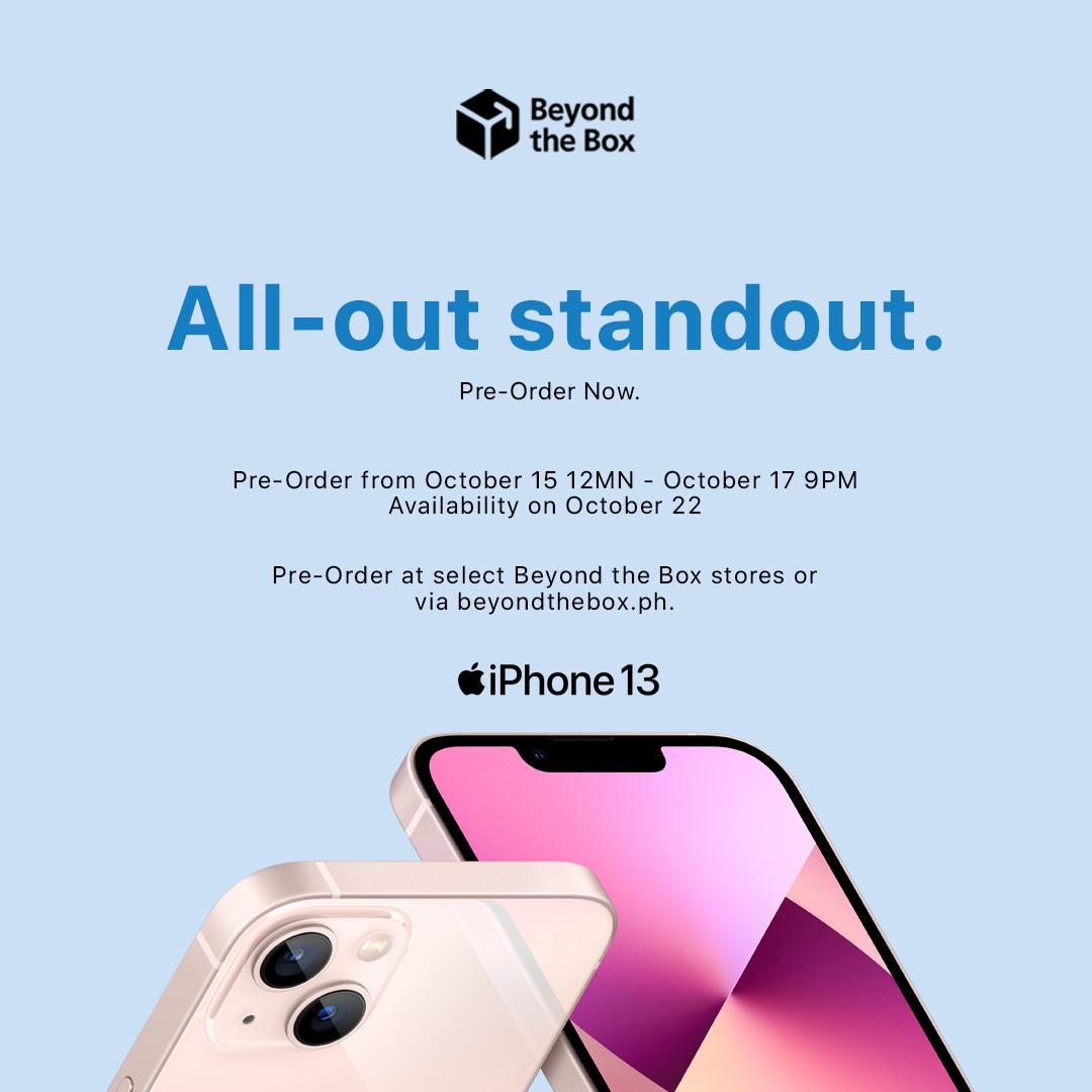 Apple iPhone 13 Series Pre-Order Philippines, Apple iPhone 13 Series Pre-Order Beyond The Box