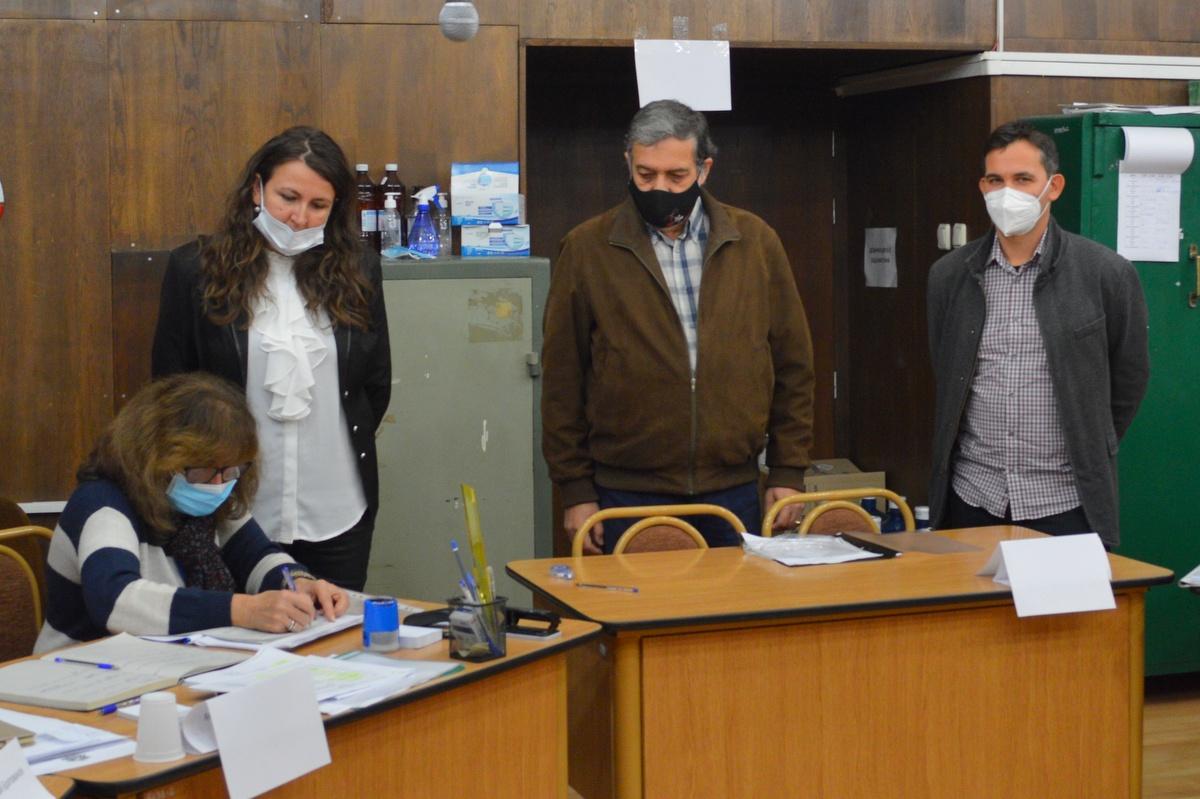 Евгени Харалампиев и Иван Белчев от Демократична България