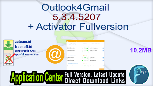 Outlook4Gmail 5.3.4.5207 + Activator Fullversion