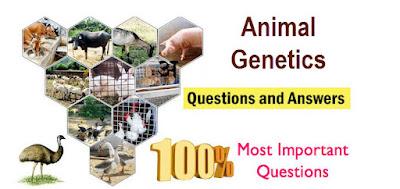 Animal Genetics Question bank