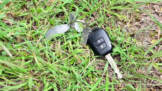 esconder chave matinho seguro furto carro