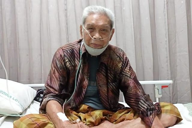 Kisah pilu pensiunan TNI asal Lotim, sendiri berjuang melawan sakit