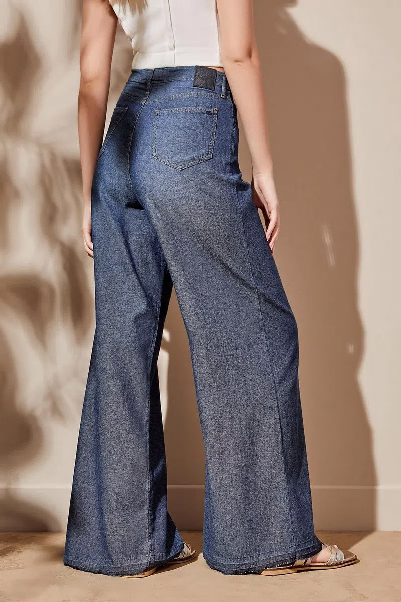 Flare jeans verano 2022 jeans oxford 2022 pata de elefante
