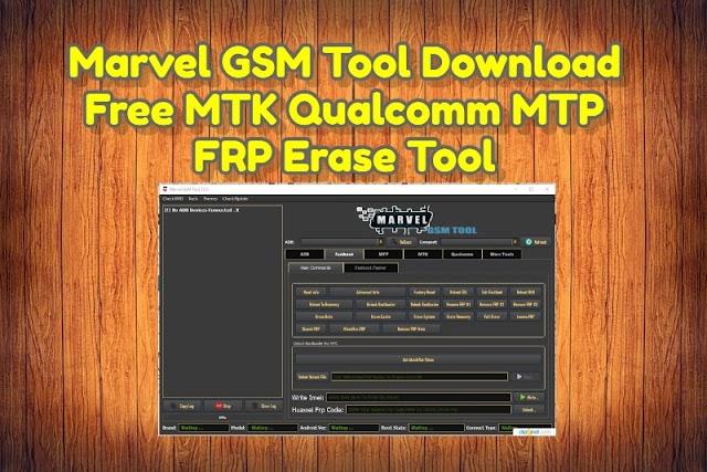 Marvel GSM Tool V2.1 Update Version Free Download