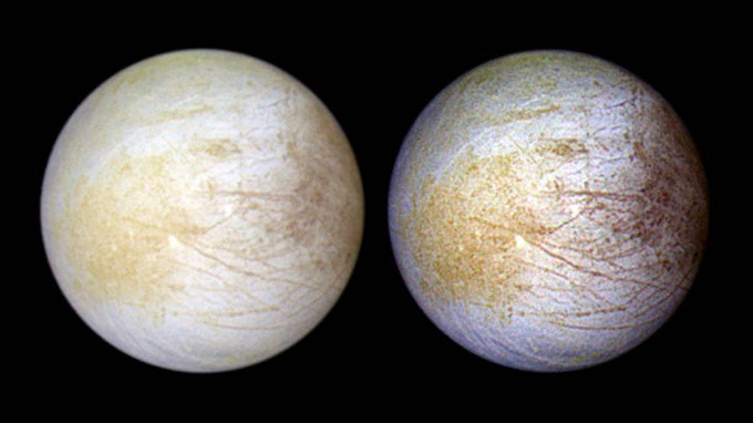 NASA Finds Proofs of Water Vapours on Europa