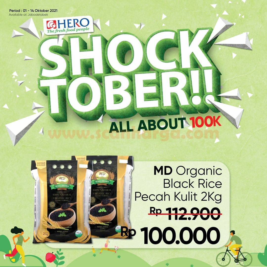 Katalog Promo HERO Supermarket 1 - 14 Oktober 2021
