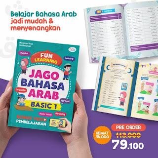 Pre Order Jago Bahasa Arab Basic 1