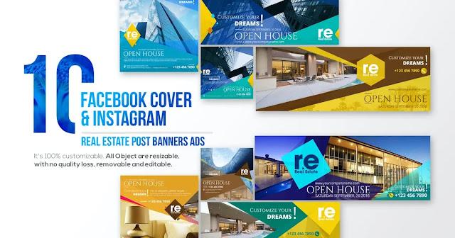 ảnh bìa facebook lĩnh vực bất động sản