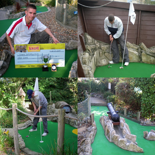 Pirate Adventure Mini Golf at Lodmoor Country Park in Weymouth