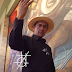 Muralista mexicano Ernesto Ríos é um dos criadores do Piramidismo no mundo