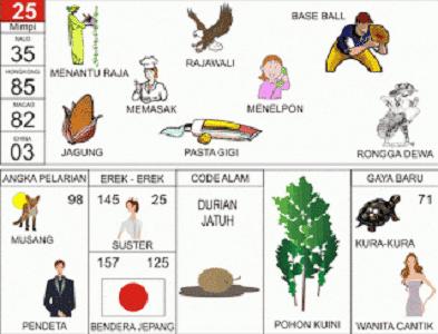 kode alam durian