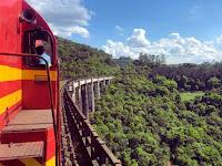 'Trem dos Vales' - Um dos passeios mais atraentes do mundo fica no RS