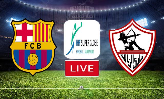 Watch Match Zamalek vs Barcelona Live Streaming IHF Men's Super Globe