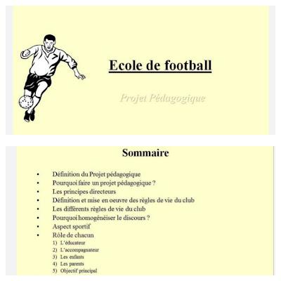 Ecole de football PDF