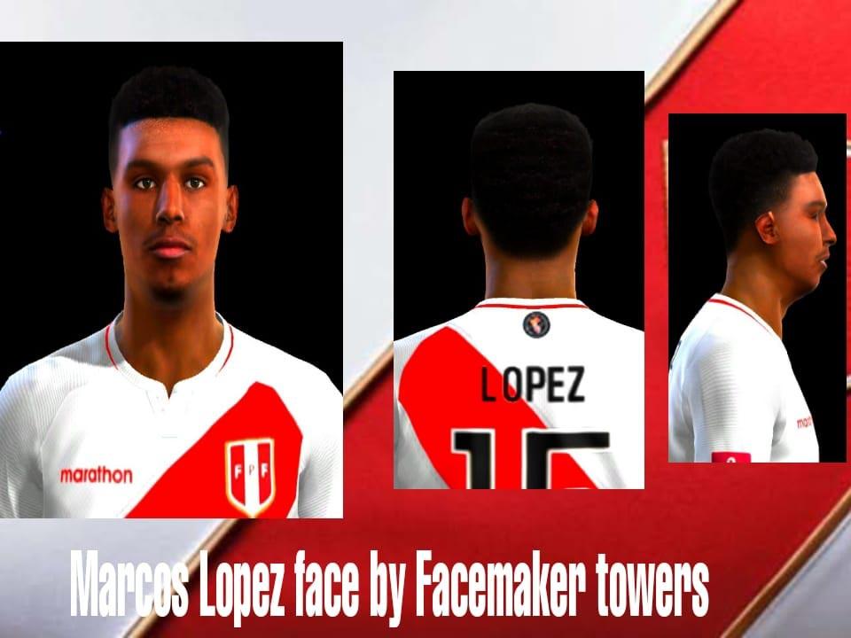 Marcos López Face For PES 2013