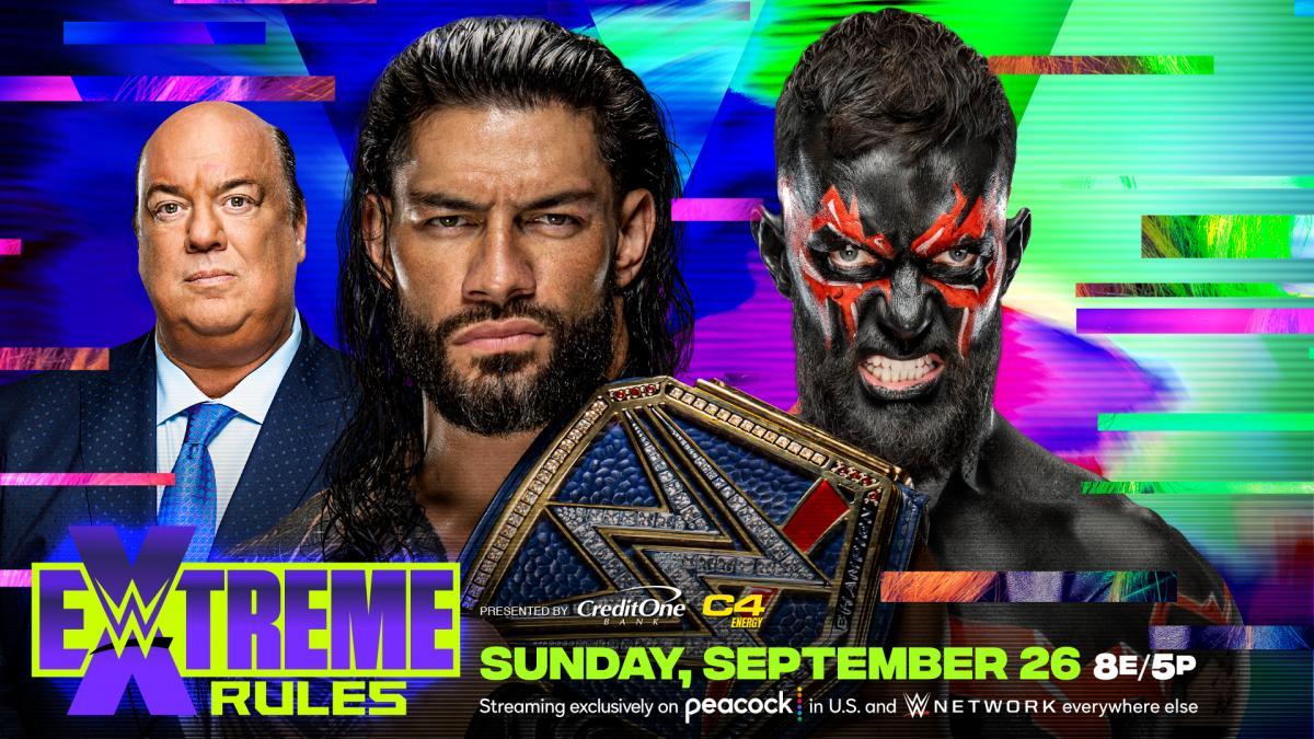 Comentários e Notas: WWE Extreme Rules 2021
