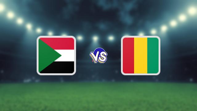نتيجة مباراة السودان وغينيا اليوم 09-10-2021 في التصفيات الافريقيه المؤهله لكاس العالم