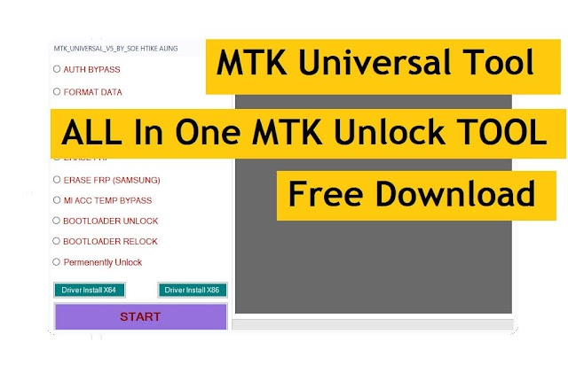 MTK Universal V5 New All in One MediaTek FRP/Password/Auth Bypass Tool