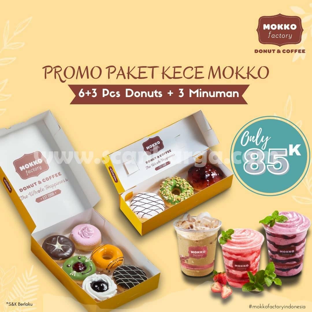 Mokko Factory Promo Paket Kece Mokko harga cuma Rp. 85.000