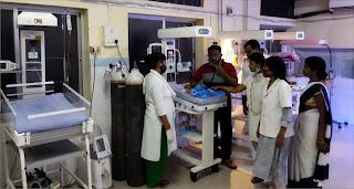 जिला महिला चिकित्सालय वार्ड ने निजी अस्पतालों को छोड़ा पीछे  | #NayaSaberaNetwork