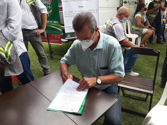 Araçatuba assina convênio de  R$ 866 mil para recuperação de estradas rurais