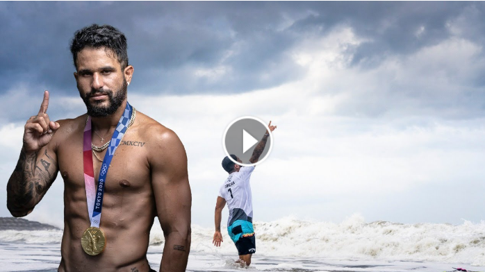 ROAD TO THE FIRST GOLD MEDAL OF SURFING - ITALO FERREIRA 31