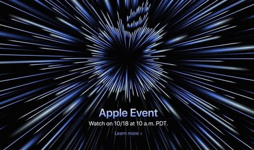 Apple hosts its next hardware event on October 18