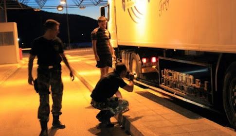 Σύλληψη 42χρονου στην Ηγουμενίτσα που μετέφερε 4 μετανάστες