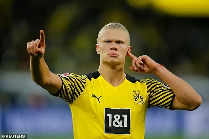 Manchester City 'set for January talks on signing £64m Erling Haaland next summer'