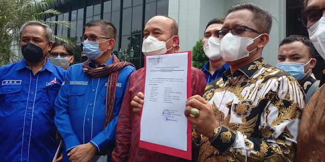 Sambangi MA, Partai Demokrat Resmi Ajukan Jadi Pihak Terkait dalam Gugatan Yusril