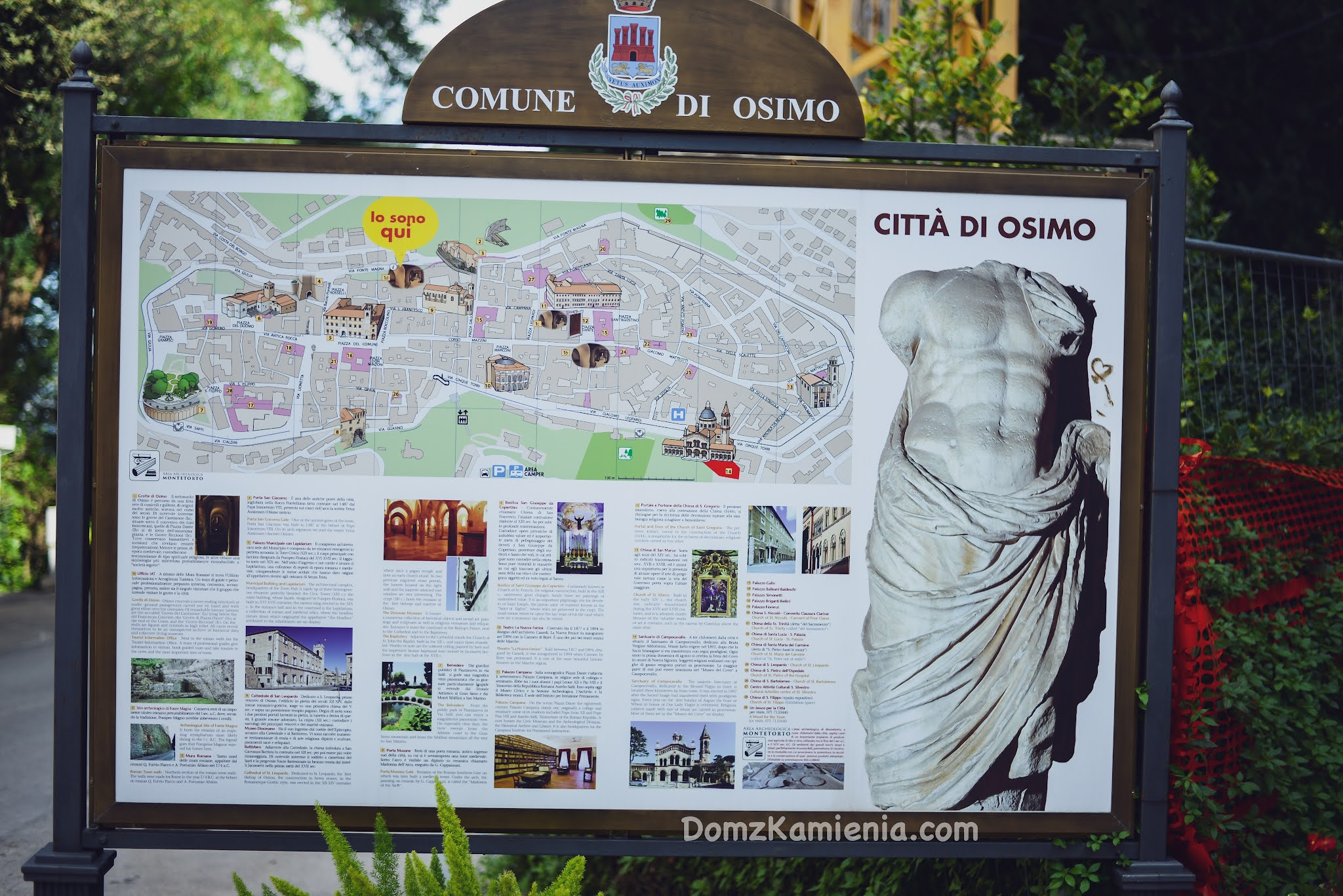 Marche region Włoch nieznany. Dom z Kamienia blog