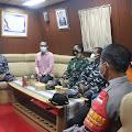 1159 Warga Sikakap Telah Divaksin. Bupati Mentawai Ucapkan Terima Kasih Kepada Jajaran TNI Angkatan Laut