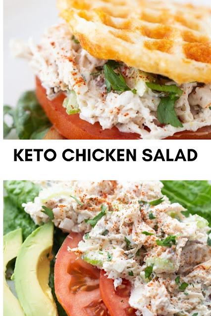KETO CHICKEN SALAD (QUICK & EASY)