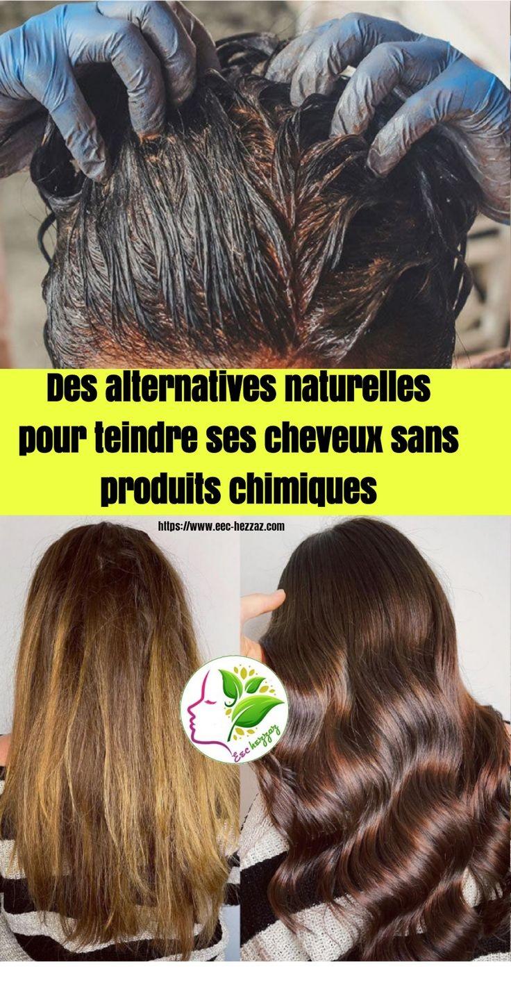 Des alternatives naturelles pour teindre ses cheveux sans produits chimiques