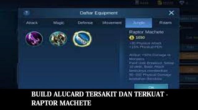 Build Alucard Tersakit dan Terkuat