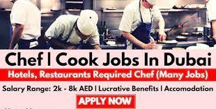 Cook Job Recruitment Dubai - August 2021 | SEPCOIII Company Direct Recruitment