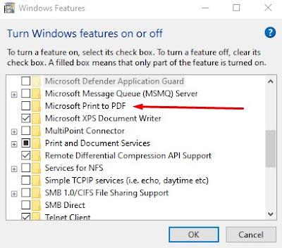 Microsoft PDF Printer