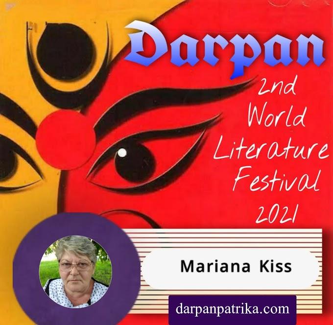 DARPAN || 2nd world Litrature Festival 2021 ||  Mariana Kiss România