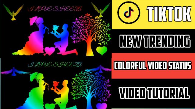 Colorful Video Status editing in Kinemaster