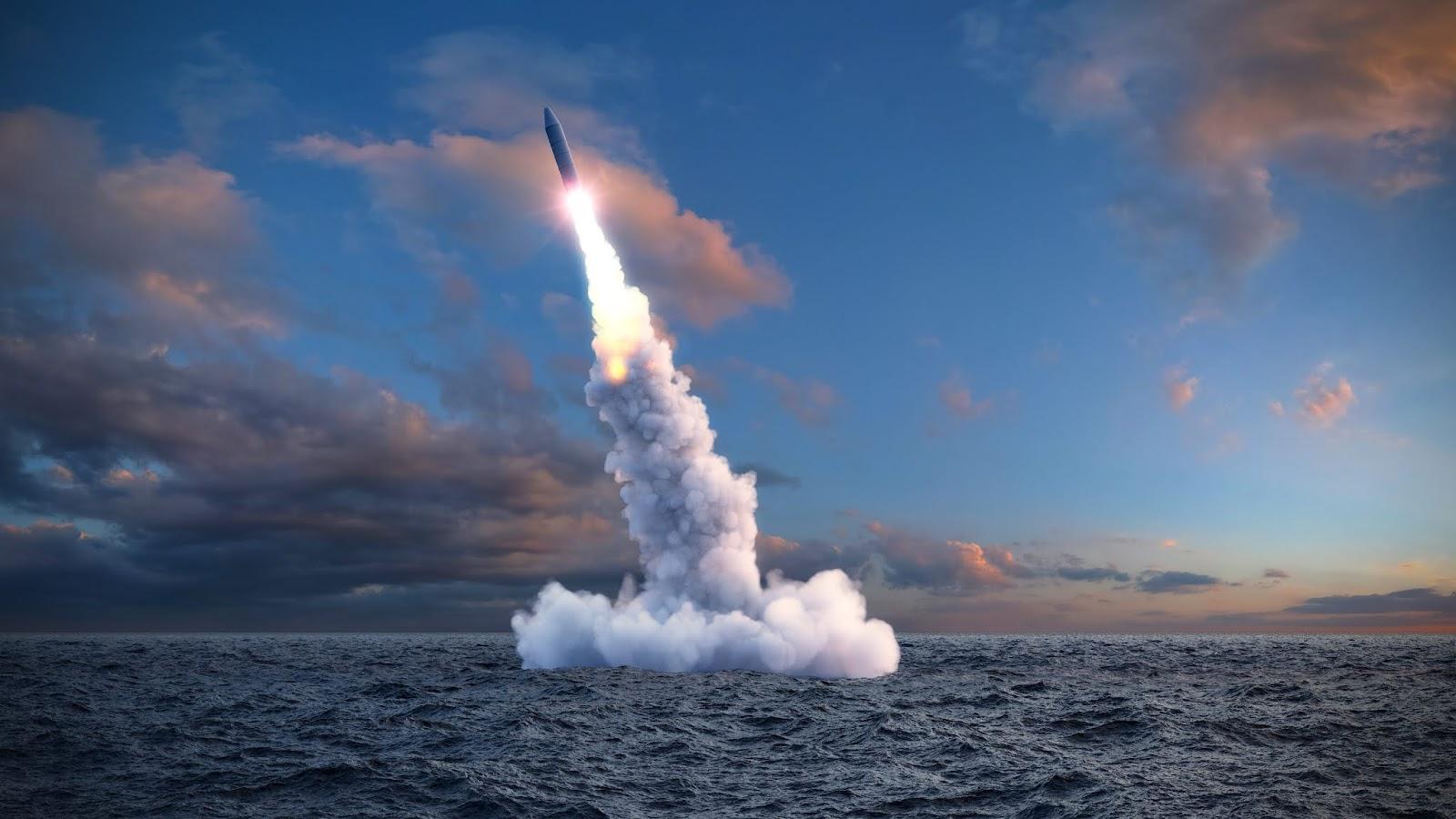 """""""Irgendwann reicht's einfach!"""" – Meer schießt Rakete auf Nordkorea zurück"""