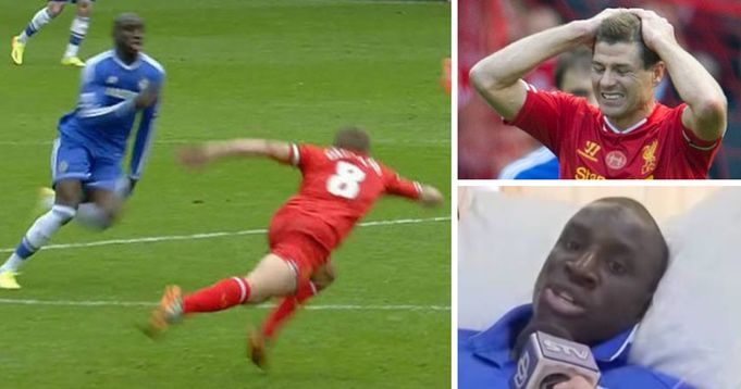 Ex Chelsea player not really sorry for killing Gerrard's title dream