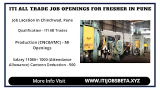 ITI All Trades Jobs In Pune