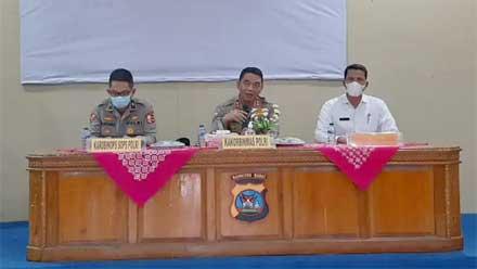 Kakorbinmas Polri Kunjungi Padang Pariaman