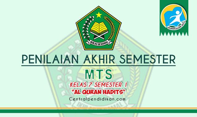 Contoh Soal PAS Fikih Kelas 7 MTS Semester 1 2021/2022 ONLINE