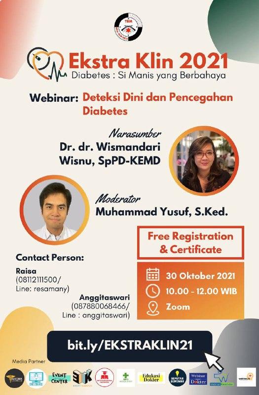 (Free Certification) Webinar Deteksi Dini dan Pencegahan Diabetes