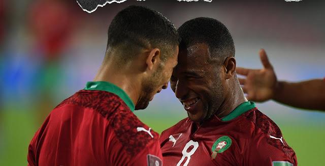 ملخص اهداف مباراة المغرب وغينيا (4-1) تصفيات كاس العالم