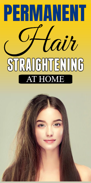 Straightening Hair Permanently With This Simple 4 Ingredient Recipe