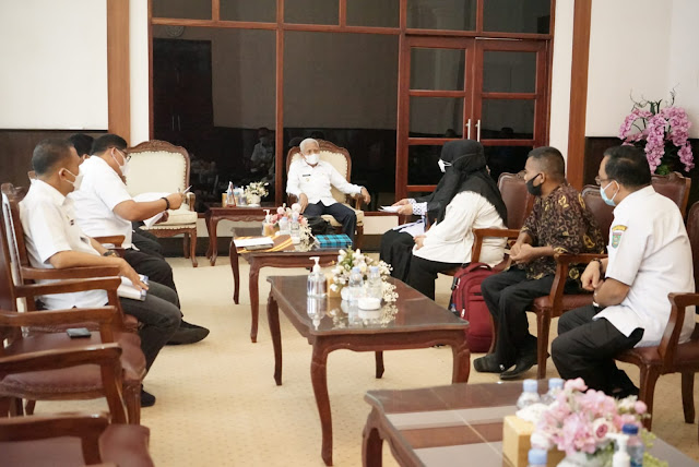 Kepala TBM Ridha Minta Pemkab Dukung Pencanangan Kampung Literasi Tahun 2021  Kelurahan Teladan