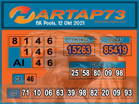 Hartap73 HK Selasa 12 Oktober 2021 -